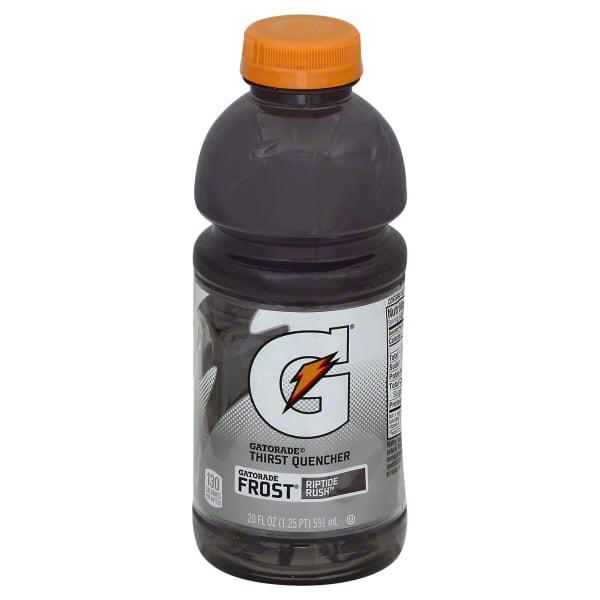Gatorade Thirst Quencher Frost Crisp & Cool Riptide Rush 20 fl. oz. Bottle