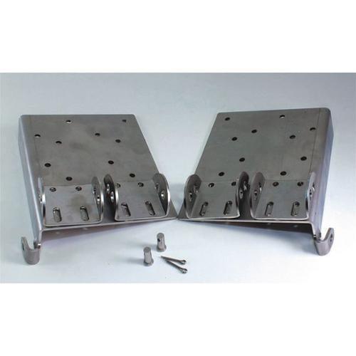AMERICAN GARAGE DOOR HB2UD Bottom Bracket Assembly, Steel, PR