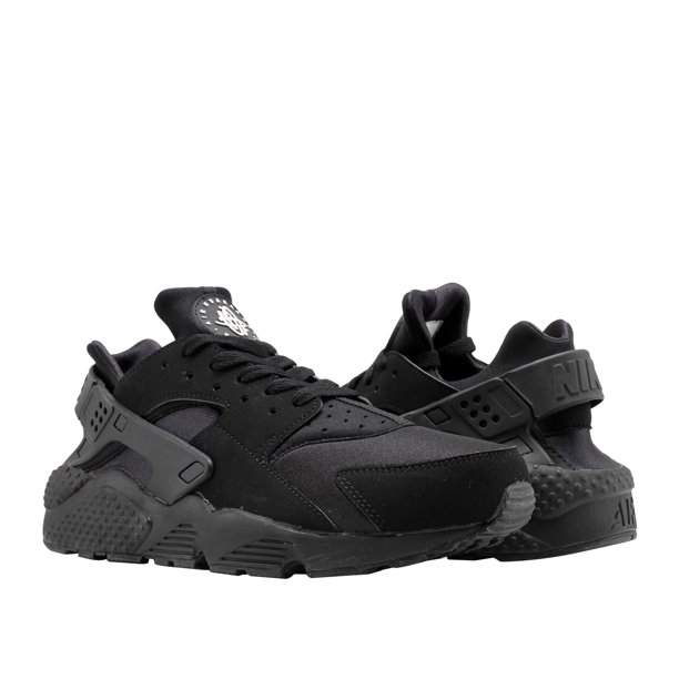 Nike Air Huarache Black/Black-White Men's Running Shoes 318429-003