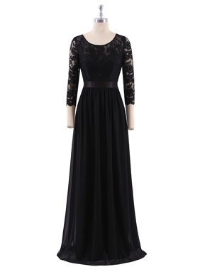183ca230dc7 Product Image Ever-Pretty Women s Elegant Floor-Length Mother of the bride  dresses for Winter 4