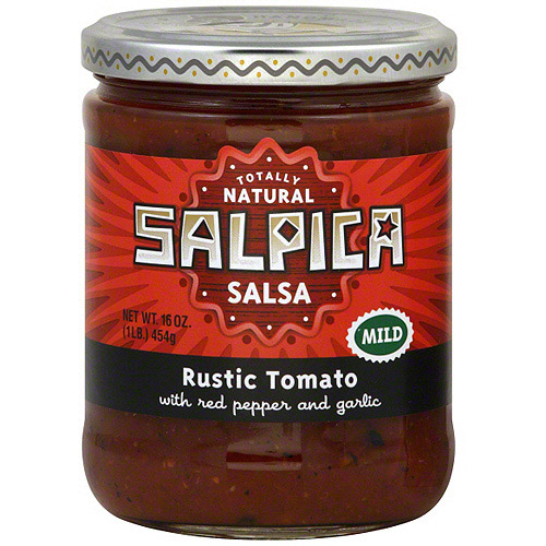 Salpica Rustic Tomato Salsa, 16 oz (Pack of 6)