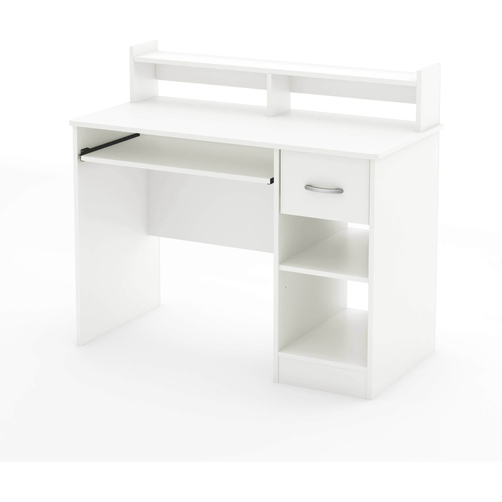 Small Desk Enchanting South Shore Smart Basics Small Desk Multiple Finishes  Walmart Decorating Design
