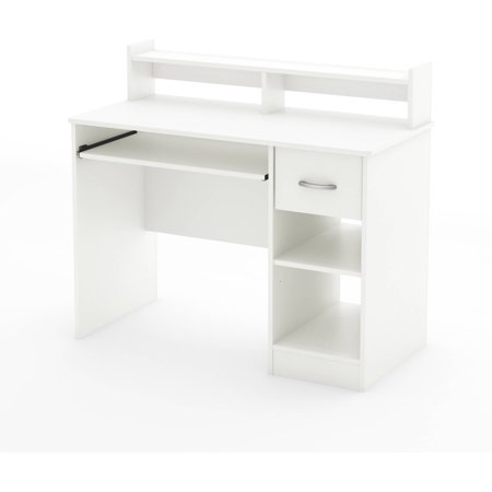 South Shore Smart Basics Small Desk, Multiple Finishes