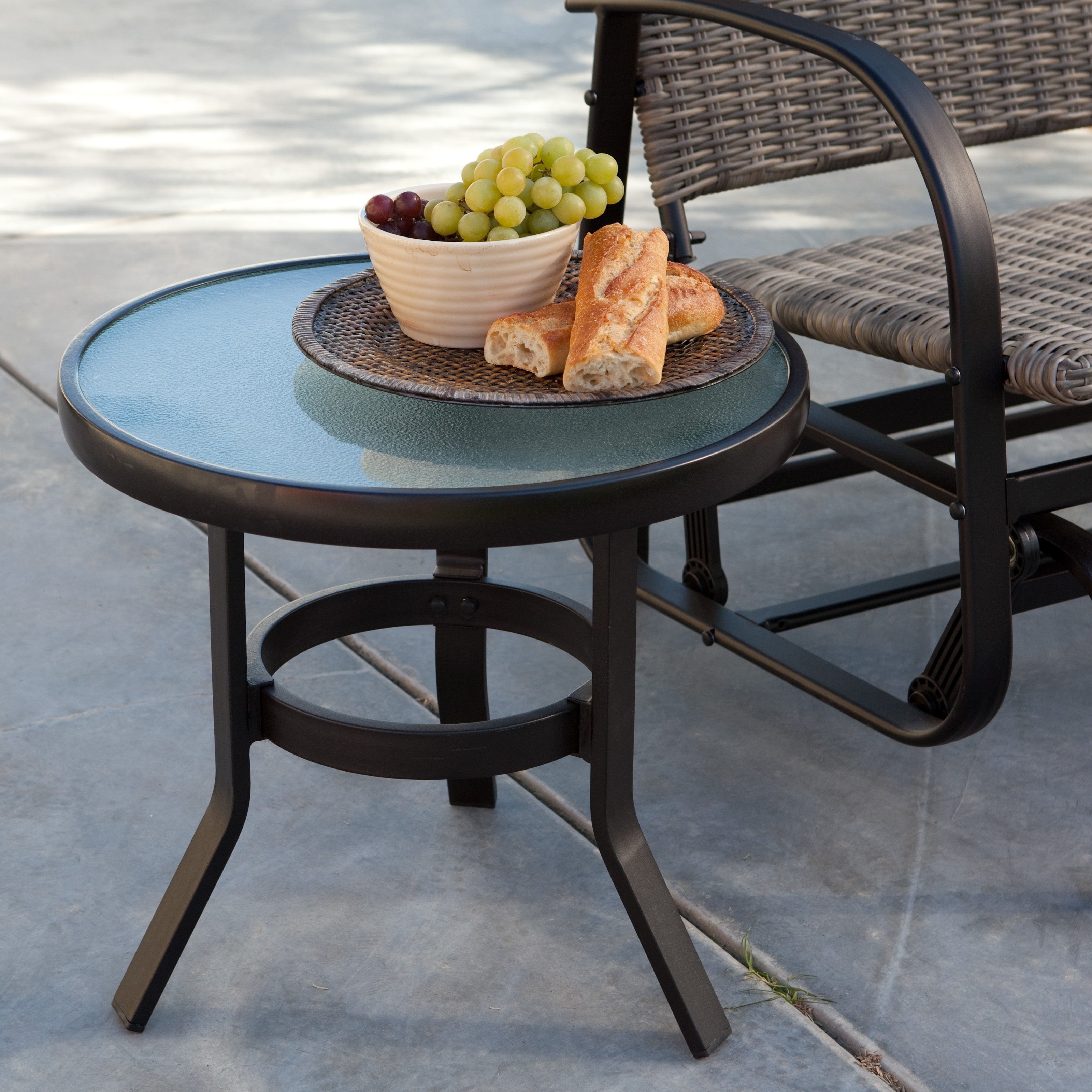 Walmart Table: Coral Coast 20 In. Patio Side Table