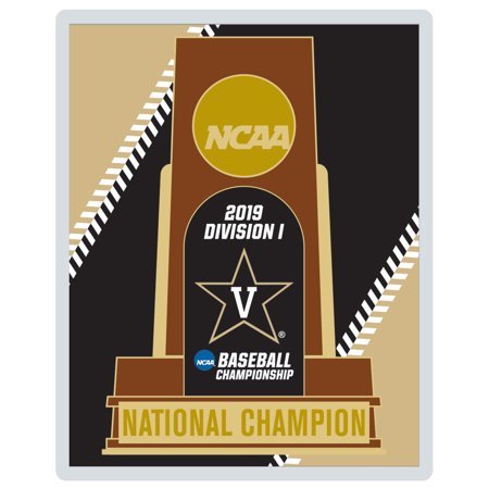 - Vanderbilt Commodores WinCraft 2019 NCAA Men's Baseball College World Series National Champions Collector Trophy Pin - No Size