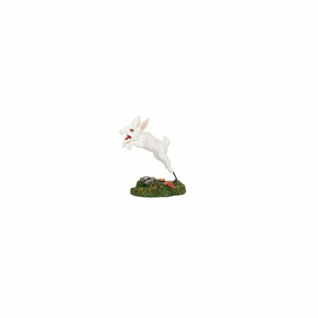 Dept 56 Halloween Village 4057622 Creepy Creatures Rabid Rabbit - Halloween Parties 2017 Kansas City