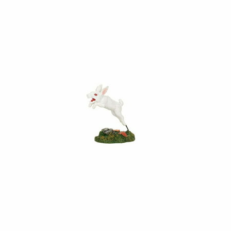 Dept 56 Halloween Village 4057622 Creepy Creatures Rabid Rabbit 2017 - 2017 Pop Culture Halloween