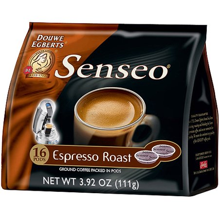 senseo espresso roast ground coffee pods 16 count oz. Black Bedroom Furniture Sets. Home Design Ideas
