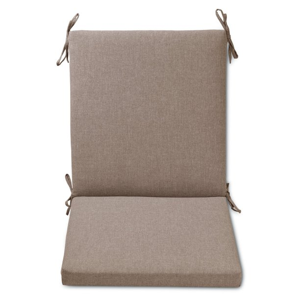 Plantation Patterns Hinged Outdoor Chair Cushion - Walmart ...