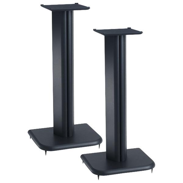 """Sanus BF24B Foundation Basic Series Speaker Stands, 2-Pack, 24"""""""