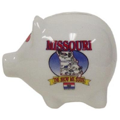 """Ddi Missouri Piggy Bank 3"""" H X 4"""" W State Map (pack Of 60)"""