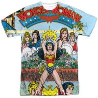 Justice League No 1 Cover (Front Back Print) Mens Sublimation Shirt