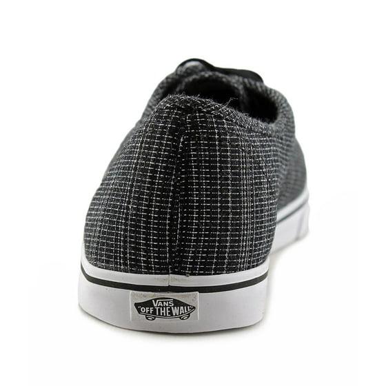 5bbc2badfe Vans - Vans Unisex Authentic Lo Pro Woven Chambray Sneakers - Walmart.com