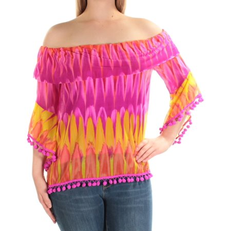 0ed70371ef9 unknown - inc international concepts pink purple off-the-shoulder ...