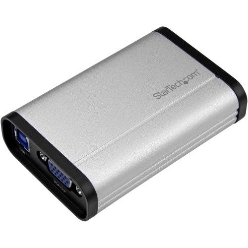 Startech VGA Video Capture Card - 1080p 60fps Game Capture Card - Aluminum - Gam