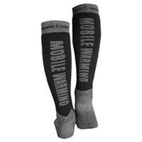 Techgear MW18A03-M4-10 Heated Socks, Men, Women, Size 4 10 Men, 6 11 Women, Dark Gray by MOBILE WARMING