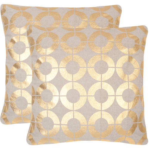 Safavieh Bailey Geometric Pillow, Set of 2