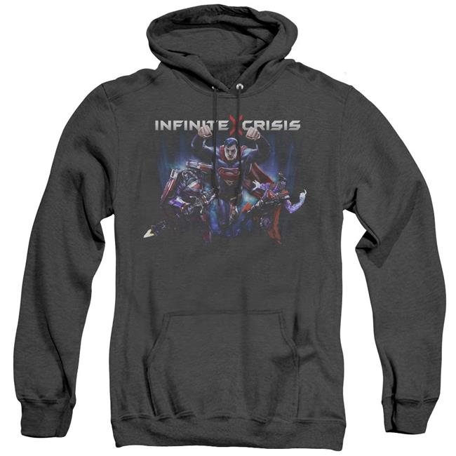 Adult Pullover Hoodie Title design DC Infinite Crisis