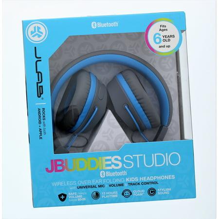 7acc8926df5 Jlab Jbuddies Studio Bluetooth Wireless Over Ear Folding Kids Headphones -  Walmart.com