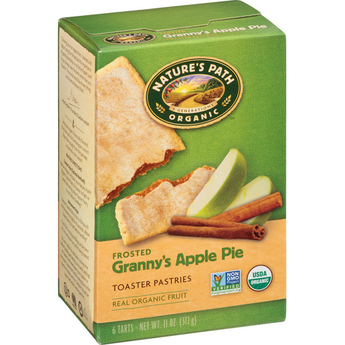 Nature's Path Organic Frosted Granny's Apple Pie Toaster Pastries, 11 oz, (Pack of 12) by Nature's Path
