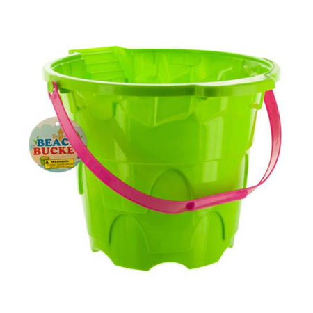 Large Castle Shape Beach Bucket (Available in a pack of 10)