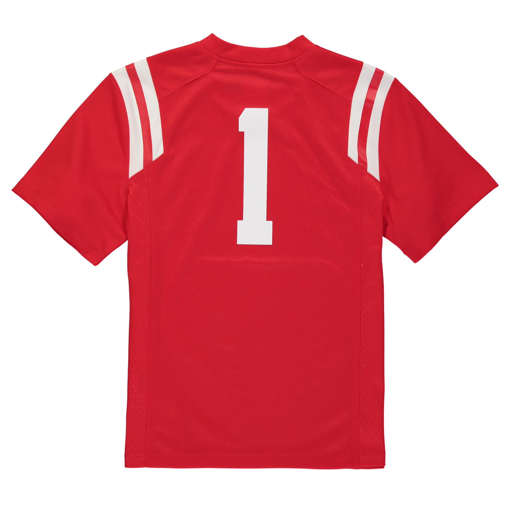 new concept 64029 de1e6 #1 Ole Miss Rebels Nike Youth Replica Football Jersey - Red