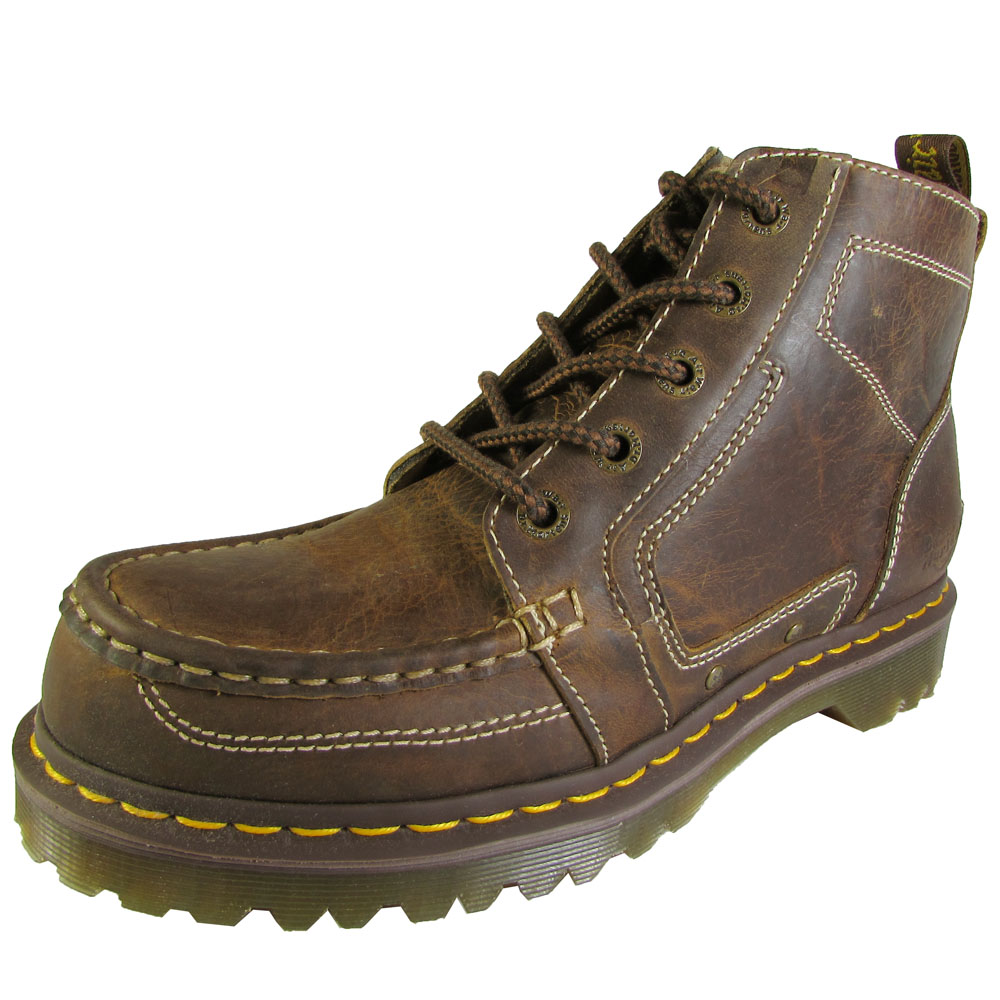 Dr. Martens Men's 'Chuck' Laced Boot, Tan Greenland, UK 8 by Dr. Martens
