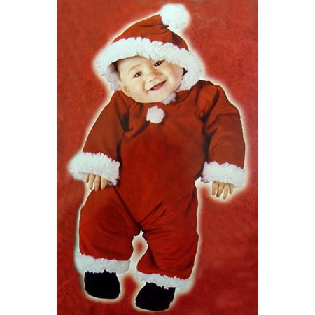 Christmas Baby Costume (Santa's Little Helper Christmas Baby Costume - Size Large (6-12)