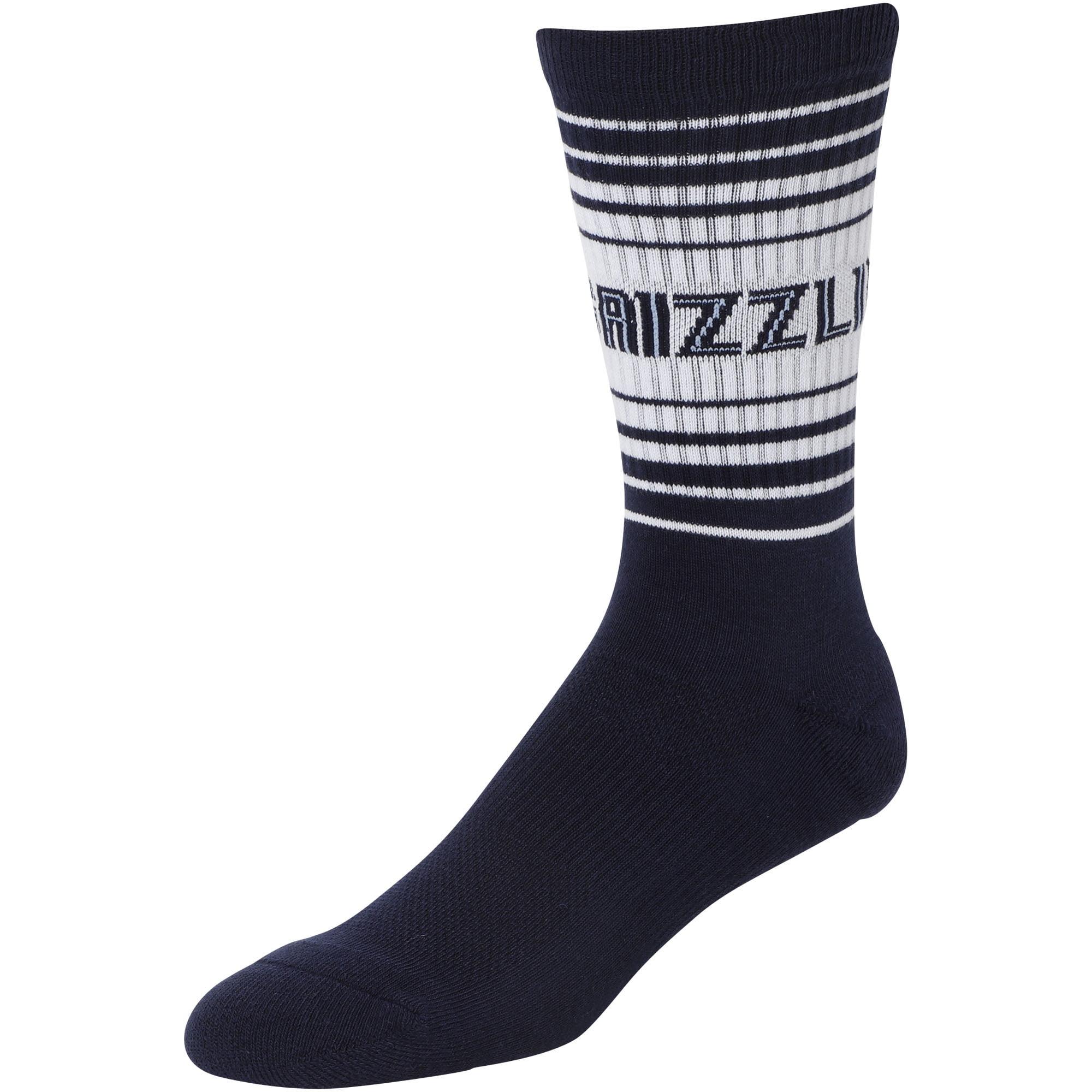 Memphis Grizzlies Horizon Crew Socks - L