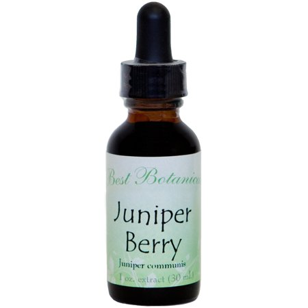 Best Botanicals Juniper Berry Extract 1 oz.