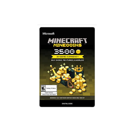 Minecraft Minecoin Pack 3500 Coins (Best Minecraft Texture Packs 2019)