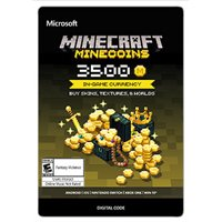 Deals on Microsoft Minecraft Minecoin Pack 3500 Coins