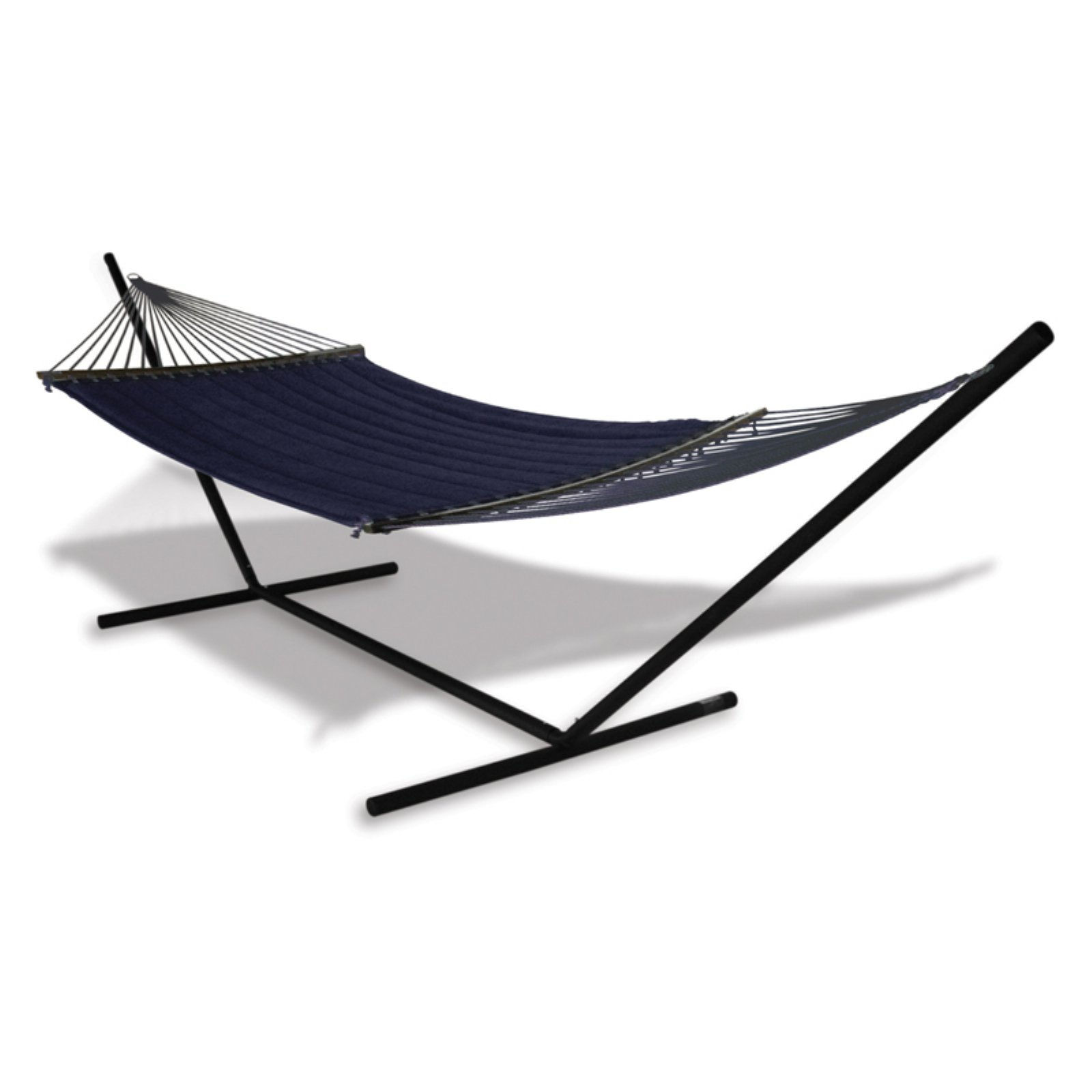 Hammaka Universal Stand and Quilted Olefin Double Hammock Combo