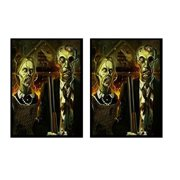 100 Max Pro American Zombie Gothic Horror Shuffle-Tech Sleeves (fits MTG / Force of Will)