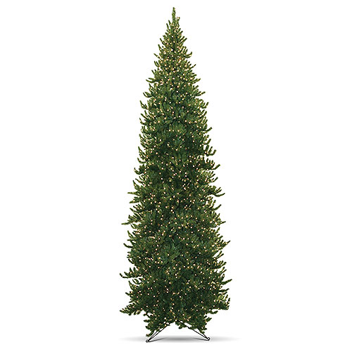 15' Pre-Lit Deodar Spruce Artificial Christmas Tree, Clear Lights