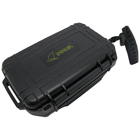 Scuba Diving Dive Waterproof Black Dry Box Case Container w/ Lanyard ()