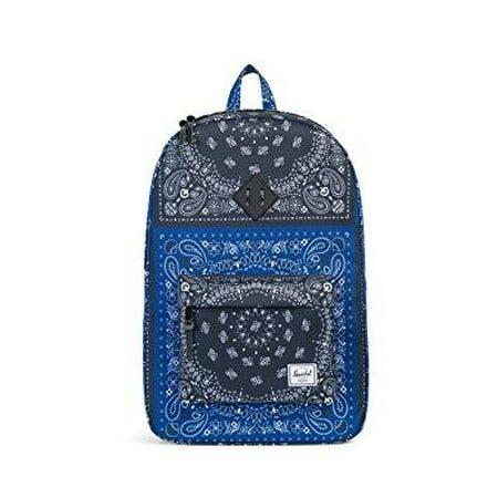 b75758120 Herschel Supply Co. - heritage backpack, navy/black bandana/black ...