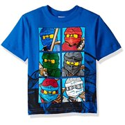 Lego Ninjago Little Boys' T-Shirt, Blue, 4