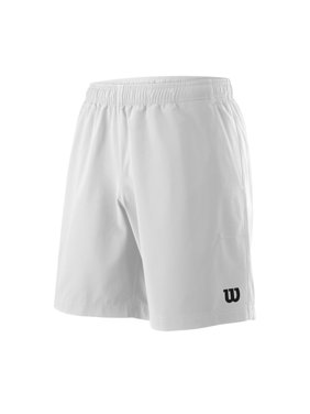"""Wilson Men's Team 8"""" Tennis Short, White"""