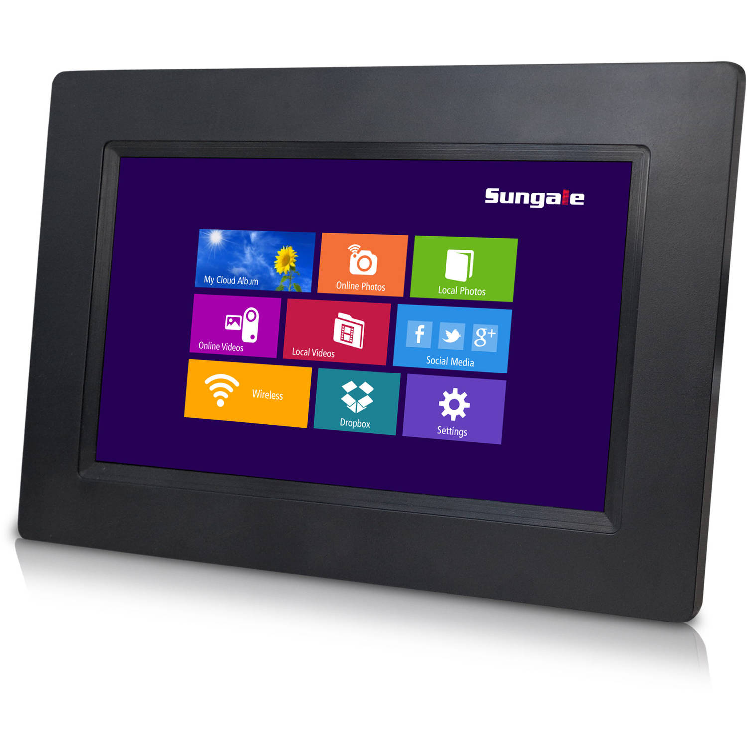 Sungale Cpf708 7 Cloud Touchscreen Digital Photo Frame Walmartcom