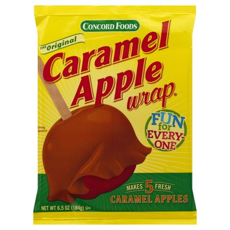Concord Foods Simply Concord  Caramel Apple Wrap, 6.5 - Caramel Apple Ideas