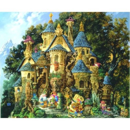 College of Magical Knowledge 1500 pc Castle Jigsaw Puzzle by Sunsout - image 1 of 1