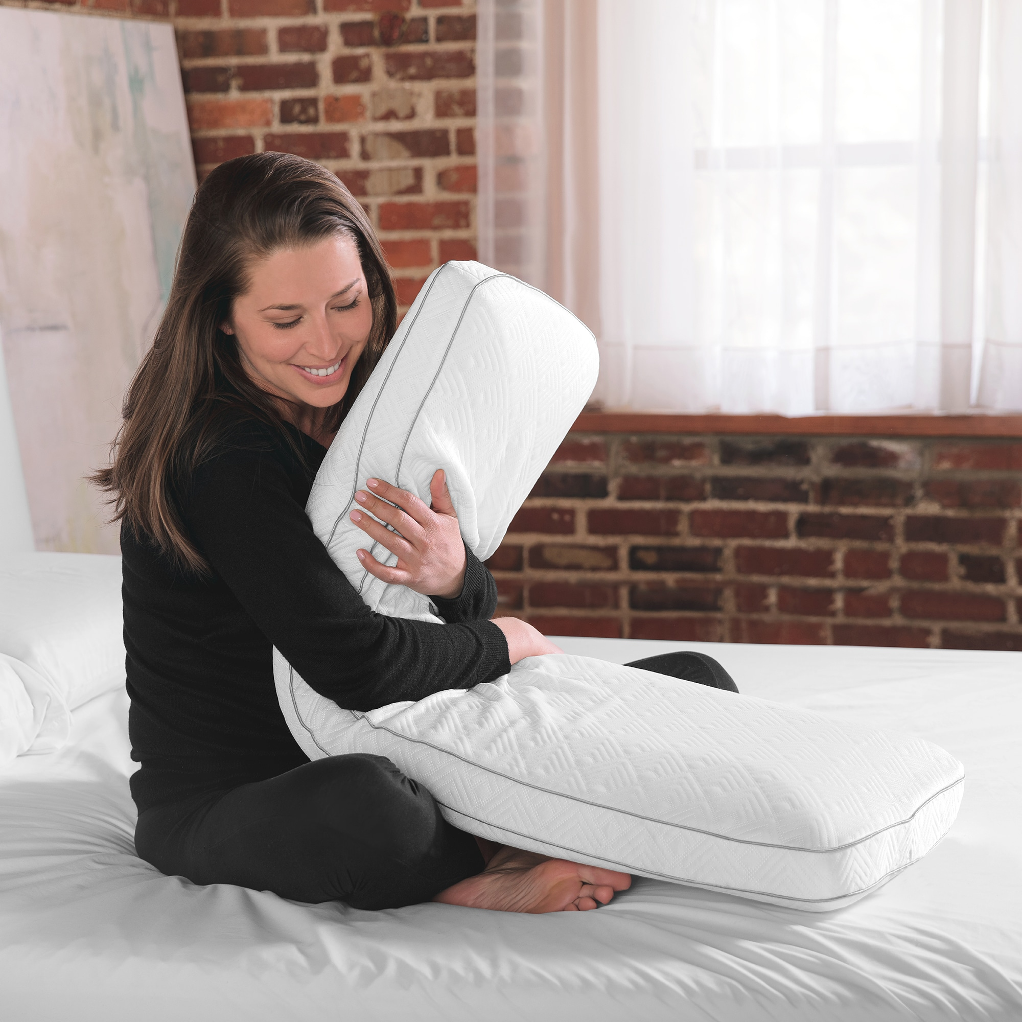 Cooling Memory Foam Body Pillow