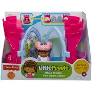 Fisher Price Little People Maid Marian Pop Open Castl