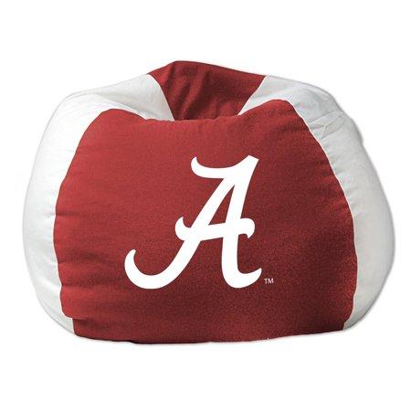 ab4cd9579a College NCAA Bean Bag Chair - Alabama - Walmart.com