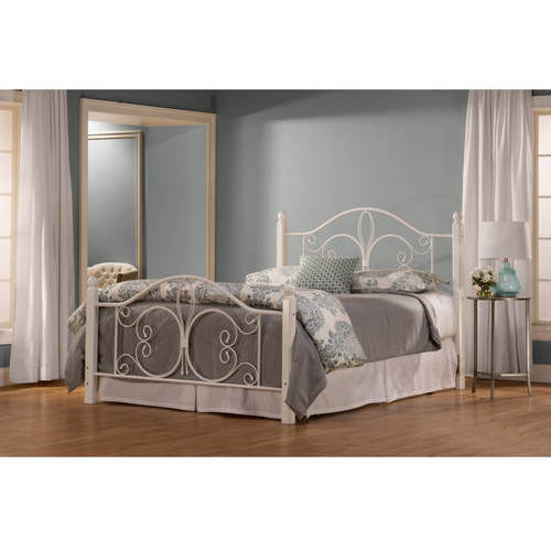 Ruby Complete Full Bed, White