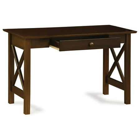 Atlantic Furniture Lexi Writing Desk in Walnut