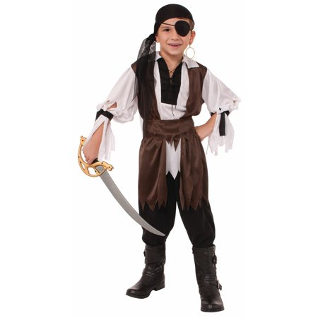 Boys Caribbean Pirate Costume](Johnny Depp Pirates Of The Caribbean Costume)