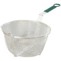 "Carlisle 601029 9-3/4"" Chrome-Plated-Nickel-Steel Round Fryer Basket - 1 Each"