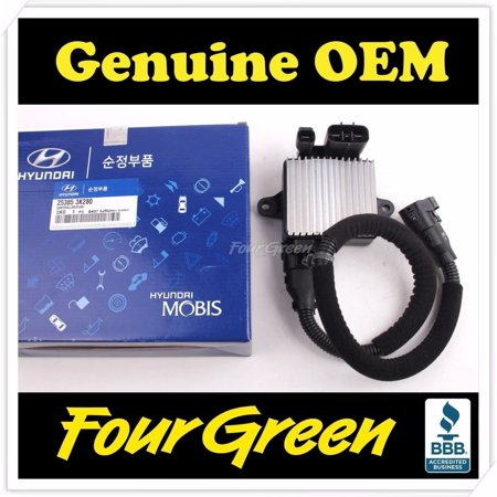 Genuine OEM 25385 3K280 PWM Cooling Fan Controller for Hyundai Azera